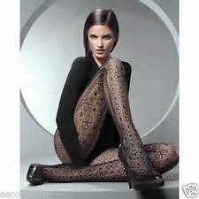 Wolford Floral Net Tights Fishnet Pantyhose MEDIUM  MOCCA 19049 *Rare*