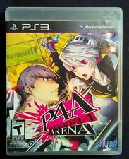 Persona 4: Arena (P4A) (Sony PlayStation 3, PS3, 2012) Complete, LN