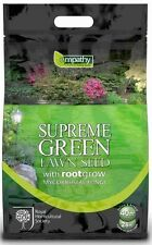 RHS Supreme Green Lawn Seed with rootgrow 1kg