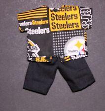 Handmade Ken Shirt Shorts NFL Steelers Football *CLOTHES ONLY*