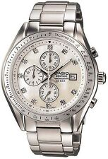 Casio EF503SPP-7A Men's Edifice Stainless Steel MOP Dial Chronograph Watch