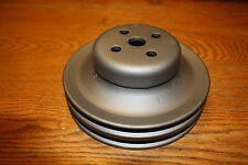 1966 67 68 69 70 TWO GROOVE WATER PUMP PULLEY MUSTANG SHELBY COUGAR TORINO 428CJ