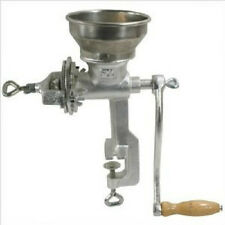 Home Style Grinder Corn, Nuts and Grain Manual Clamp Short style Hopper