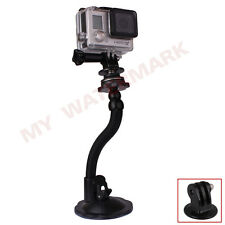 Car Windshield Flexible Suction Cup Mount+Adapter For GoPro HERO 2 3 3+ 4 Camera