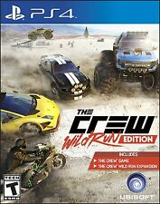 THE CREW WILD OR RUN JEU PS4 NEUF