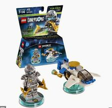 LEGO Dimensions Fun Pack 71217 NINJAGO Zane & 3 in 1 NinjaCopter BRAND NEW