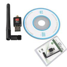 802.11n/g/b 150Mbps USB WiFi Wireless Adapter LAN Card Receiver Hot