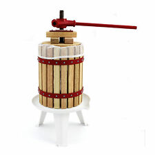 KuKoo Fruit Press Manual Cider Making Pressed Juice Homemade Wine 6 Litre