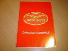 DEPLIANT gamme Moto Guzzi de 1992 en italien