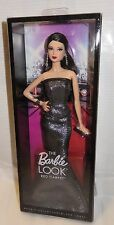 NRFB BARBIE ~ MATTEL THE LOOK GRAY & BLACK GOWN DEALER EXCLUSIVE LEA DOLL MIB