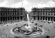 Cartolina - Postcard -  Roma - Piazza Esedra - auto d'epoca  - anni '50