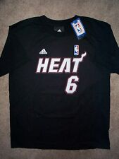 ($22) ADIDAS Miami Heat LeBRON JAMES nba Jersey Shirt Tee YOUTH KIDS BOYS xl