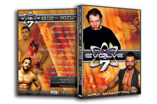 """Official Evolve Wrestling - Volume 7 """"Aries vs. Moxley"""" Event  DVD"""
