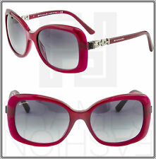 BVLGARI MUSA BV 8144 Red Purple Black Silver Jewel Sunglasses Gradient Women