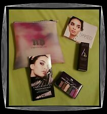Urban Decay Makeup Bag Kit with LipGloss, B6 Complexion Spray, Shadow & Primer