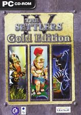 The Settlers IV Gold Edition (PC-DVD) BRAND NEW SEALED