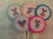 Abby Cadabby Customized Cupcake Toppers 12 count Birthday Sesame Street