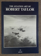 Robert Taylor Flyer/Brochure - The Aviation Art of Robert Taylor. Late 1980s.