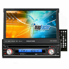 CREATONE V-7260DG AUTORADIO DVD 1DIN TOUCHSCREEN GPS NAVI BT l 64GB USB+SD