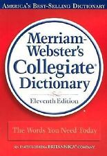 Merriam-Webster's Collegiate Dictionary, 11th Edition (Red Kivar Binding with Ja
