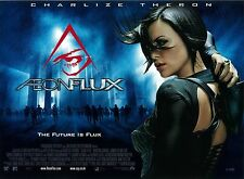 Aeonflux movie poster (original UK Quad) Charlize Theron - 30 x 40 inches