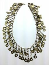 "19"" x 1.75"" Vintage Kuchi Kochi Tribal Chain DIY Jewelry Supply Belly Dance"