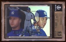 DEREK JETER 1999 FLAIR SHOWCASE 1 OF 1 MASTERPIECE BGS 9.5  AMAZING HOLY GRAIL !