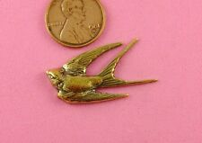 VINT DESIGN ANT BRASS SMALL DIVING SWALLOW-1 PC(s)