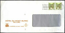 Switzerland 1989 Hotel Du Mont-Blanc Au Lac Cover #C36800