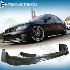 FOR 01-05 LEXUS IS300 FRONT BUMPER LIP SPOILER BODYKIT AMS STYLE URETHANE PU