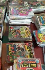1 box lot 50 OLD COMIC MARVEL DC deadpool  thor xmen flash batman strange shield