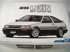 NEW AOSHIMA 1985 TOYOTA COROLLA LEVIN AE86 GT-APEX 1/24 Scale KIT MODEL