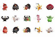 15 Pre-Cut Angry Birds 1 Inch Bottle Cap Images