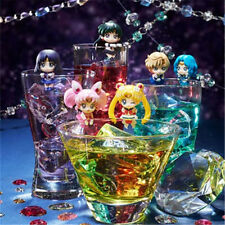 Sailor Moon OCHATOMO Series Tea Cafe Figure Figurine Cup Coaster 6pcs 6.5cm NB