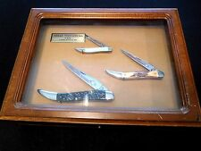 CASE XX 1984 TEXAS TOOTHPICK 3 KNIFE SET **ONLY 2500 MADE !!**