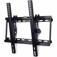 TILT TV WALL BRACKET MOUNT PLASMA LED LCD 3D 23 32 34 37 40 42 46 48 50 55 benro