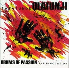 Babatunde Olatunji : Drums of Passion: the Invocation CD (2002)