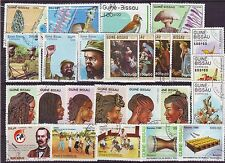 Guine Bissau-25 Diff. Used Good Condition Stamps #F50