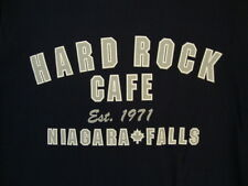 Hard Rock Cafe Niagara Falls Canada Souvenir Established 1971 Navy T Shirt M