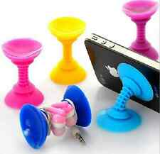 Wholesale 1 pcs Double  sucker  Holder Stand Sucker for Cell mobile Phone for
