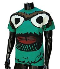 Sesame Street Skate Co. Green Mens T shirt size 2Xlarge