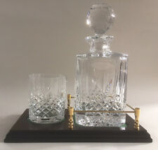 Companion Set Decanter and Glass on Gallery Tray