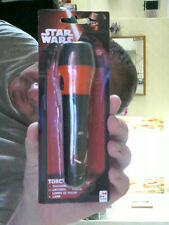 DISNEY STAR WARS TORCH  GREAT XMAS GIFT FREE UK POST