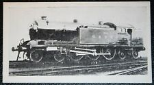 Glasgow & South Western Railway   4-6-4  Tank Engine  Vintage Photo Card