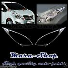 Chrome Headlight Lamp Cover Trim for 09~ Chevrolet Spark/Spark GT/Beat