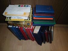 Sammlung Posten Alle Welt mit Motiven Übersee Europa usw. ca. in 25 Alben (9323)