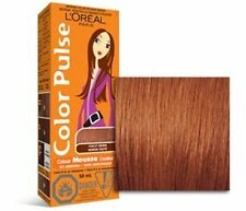 Color Pulse By Loreal,  Non-permanent Hair Color Mousse, Punchy Brown, 4 Ea