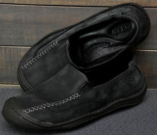KEEN Golden 53009 Charcoal Black Nubuck Slip On Comfort Walking Hiking 38 /  7.5