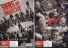 Sons Of Anarchy : Seasons 5 & 6 : NEW DVD