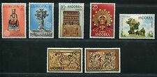 Spanish Andorra 1974 Complete Year Set NH Scott 79-80 81-82 83 84-85